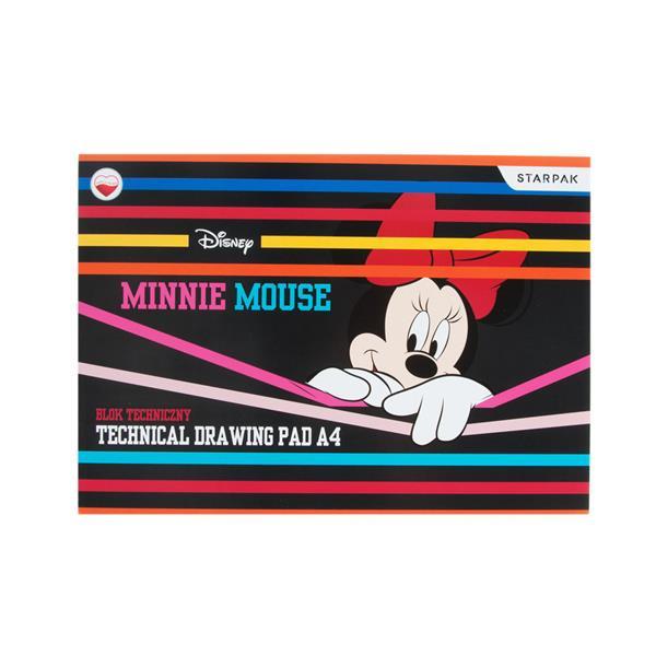 Bloc de desen Minnie Mouse, A4, 10 coli