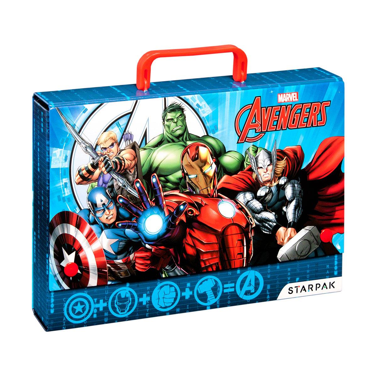 Mapa cu maner Starpak Avengers, 32 cm