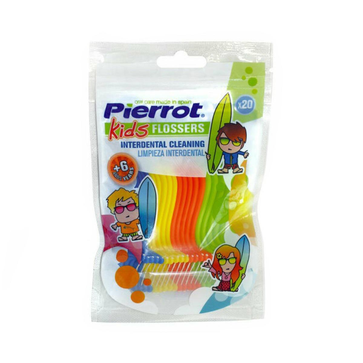 Ata dentara individuala pentru copii Pierrot, 20 buc