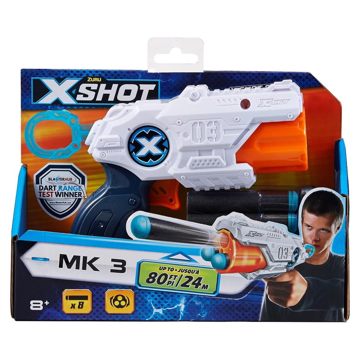 Blaster X-Shot Excel Mk 3, 8 proiectile