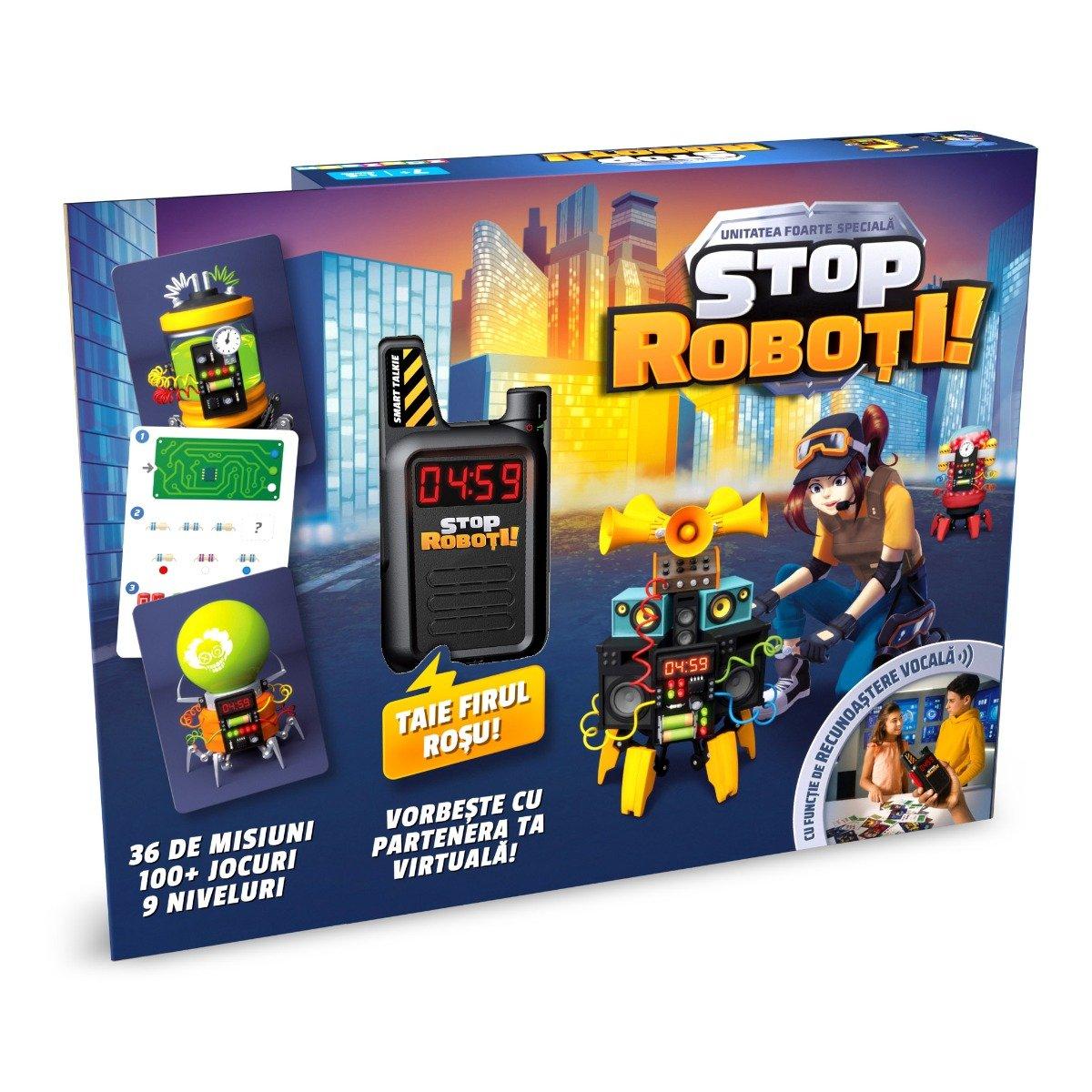 Joc interactiv Noriel Games, Stop Roboti!