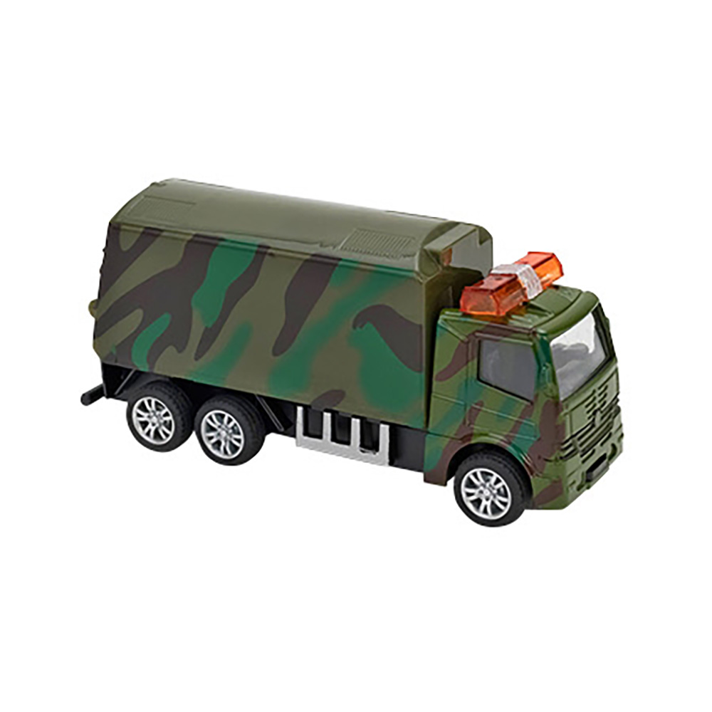 Camion Globo Pull Back Die Cast, 1:55, Army