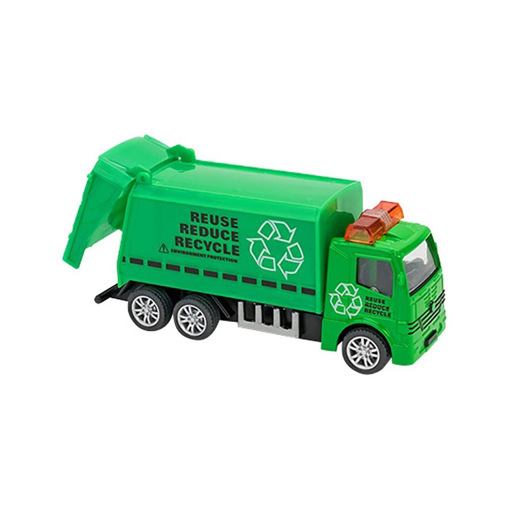 Camion Globo Pull Back Die Cast, 1:55, Verde
