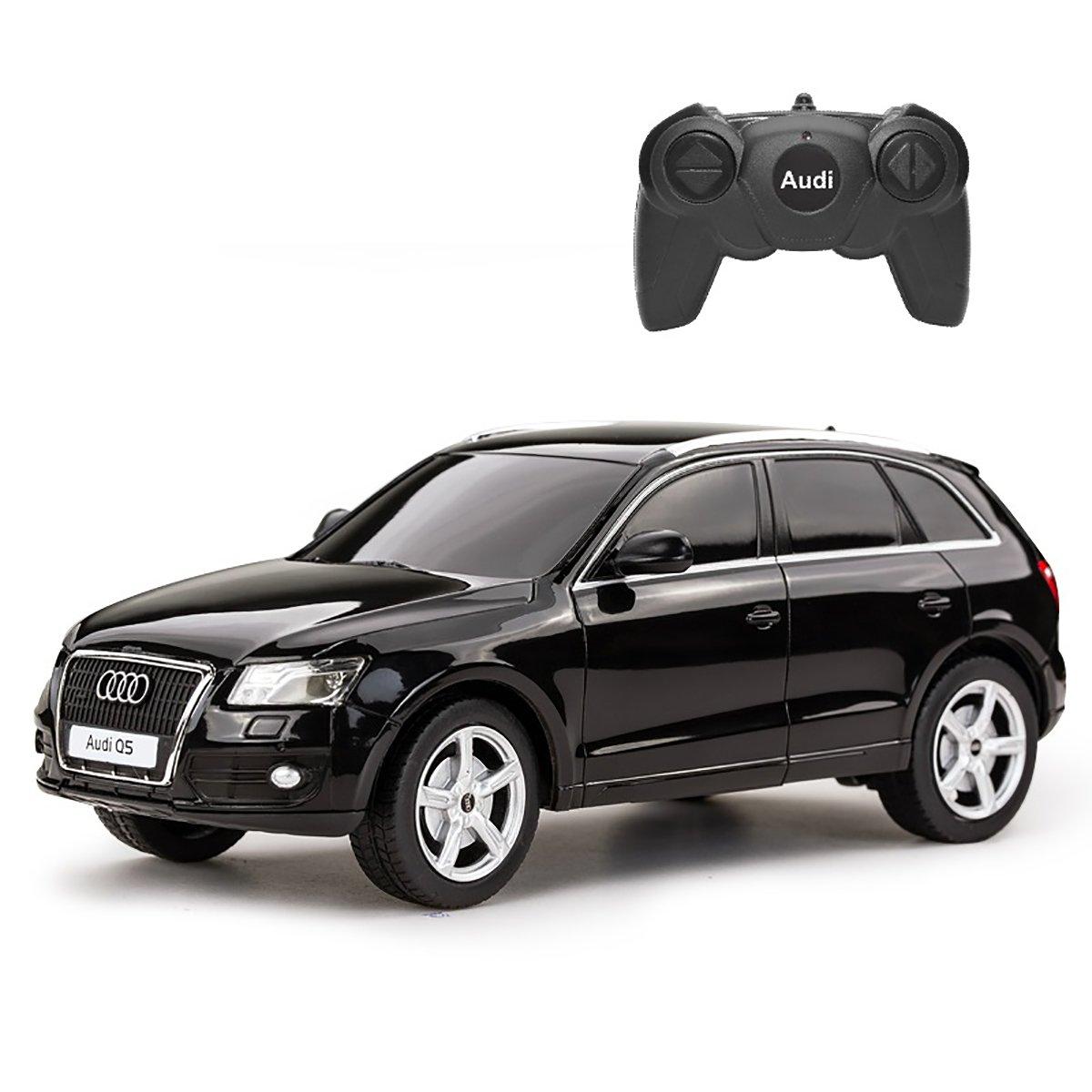 Masinuta cu telecomanda Rastar Audi Q5, Negru, 1:24