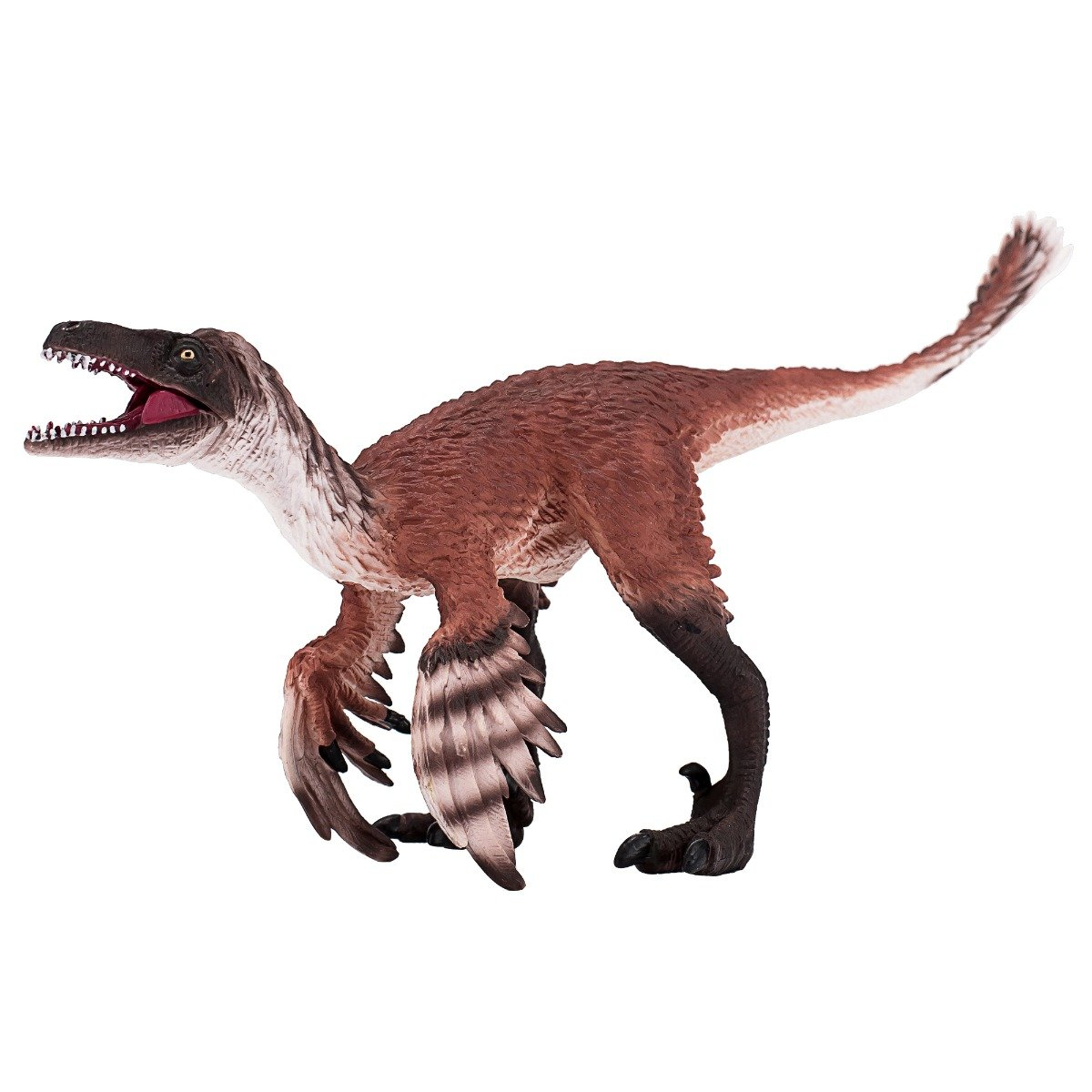 Figurina Mojo, Dinozaur Troodon cu maxilar articulat