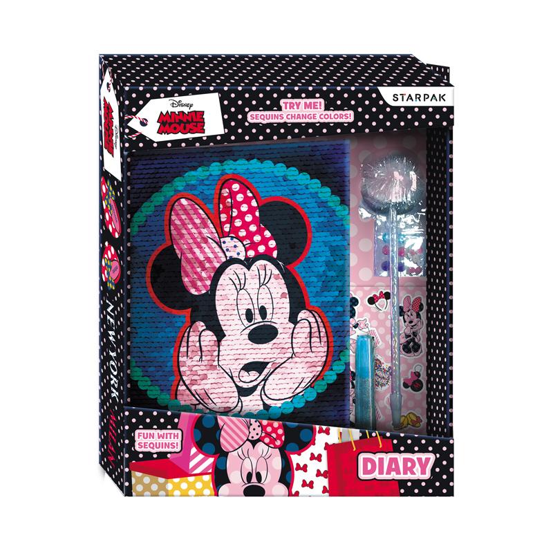 Set jurnal si accesorii Starpak, Disney Minnie