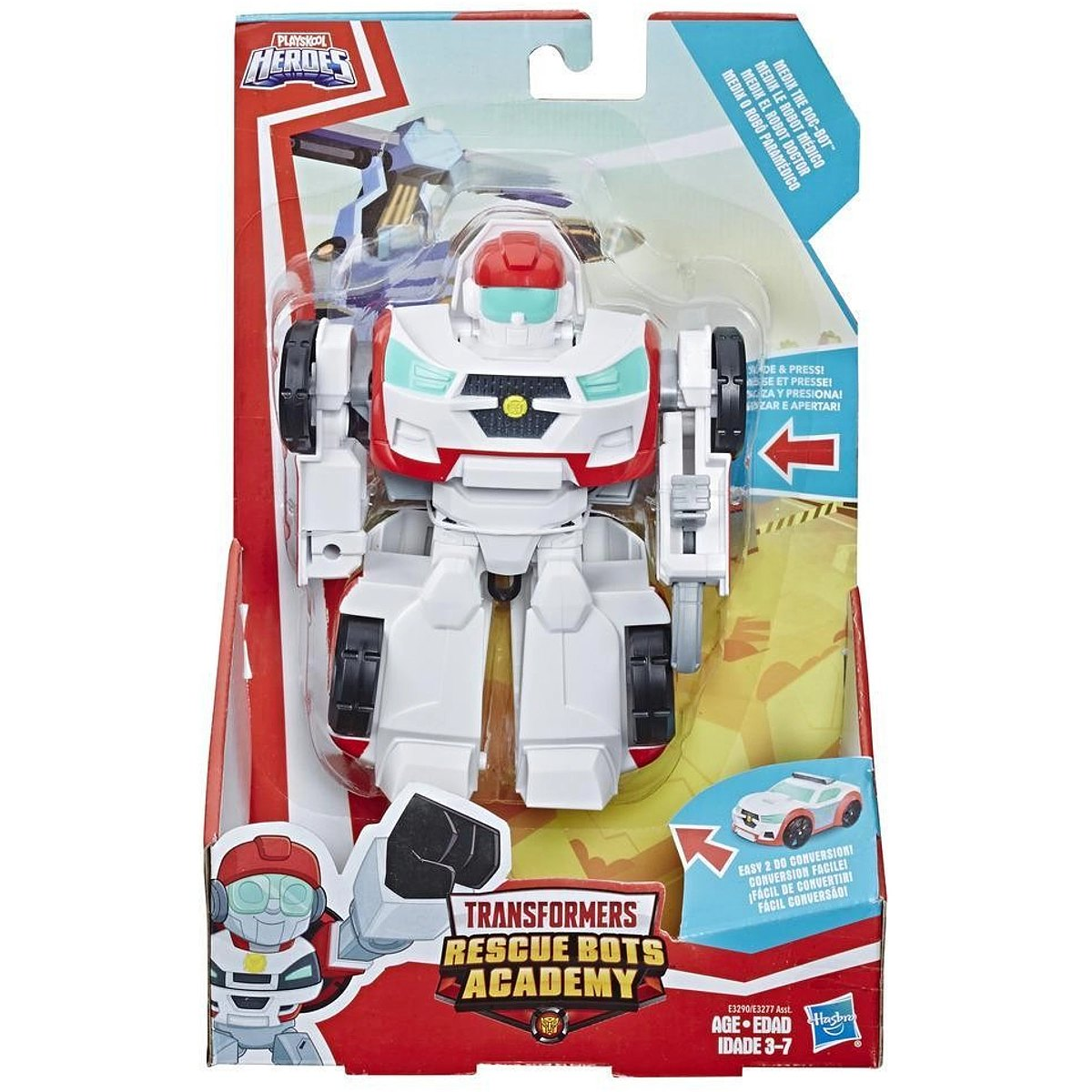 Figurina Transformers Rescue Bots Academy, Medix The Doc, E3290