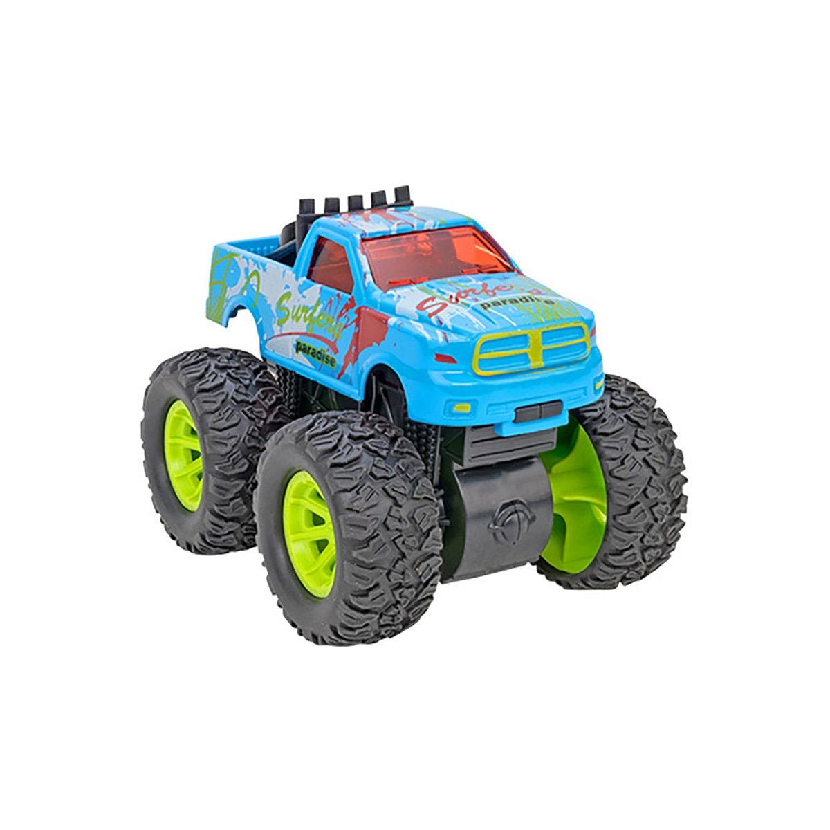 Masinuta Monster Truck Globo Die Cast, Blue