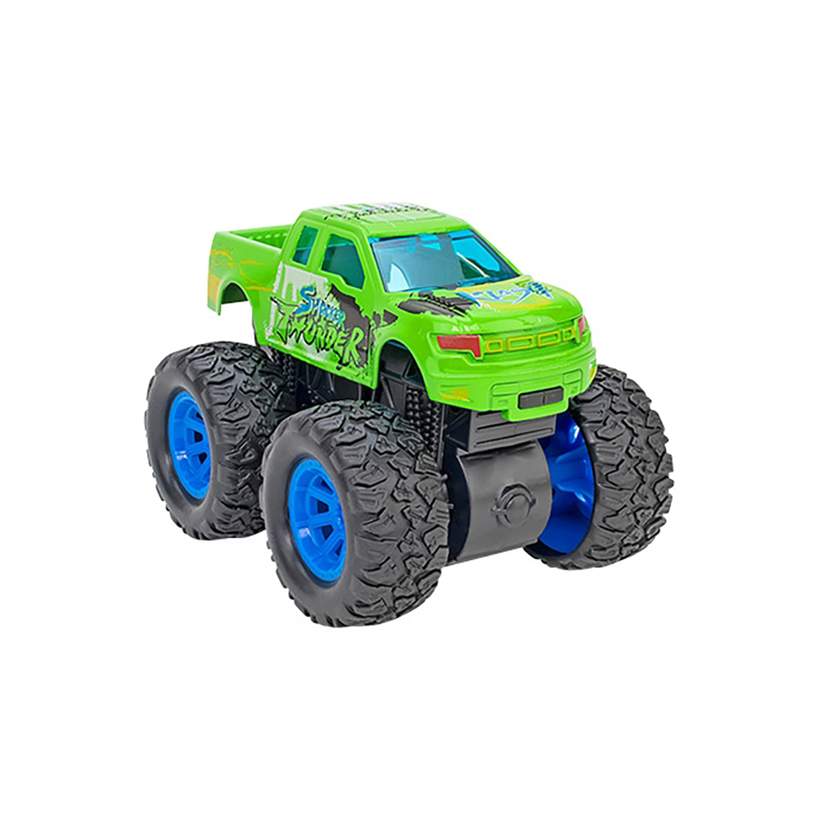 Masinuta Monster Truck Globo Die Cast, Verde