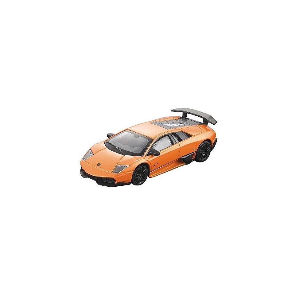 Masinuta Rastar Lamborghini Murcielago LP 670-4 SV 1:43, Portocaliu