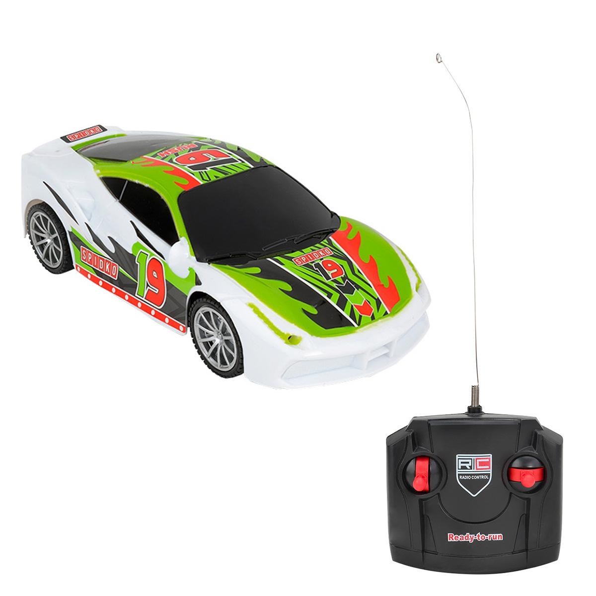 Masinuta cu telecomanda Globo Racing Car, Verde
