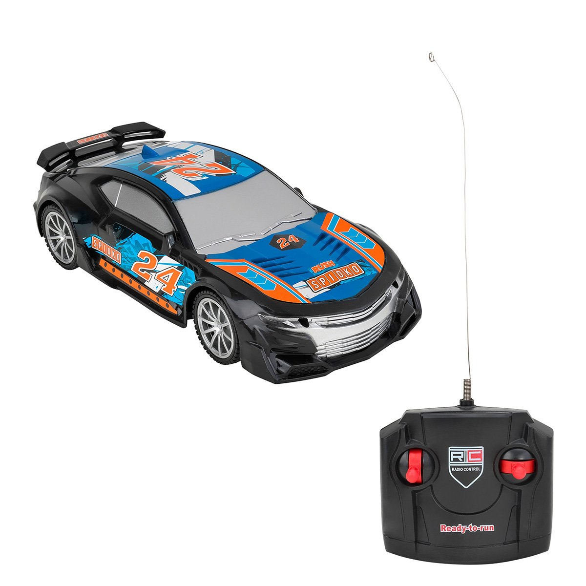 Masinuta cu telecomanda Globo Racing Car, Albastru