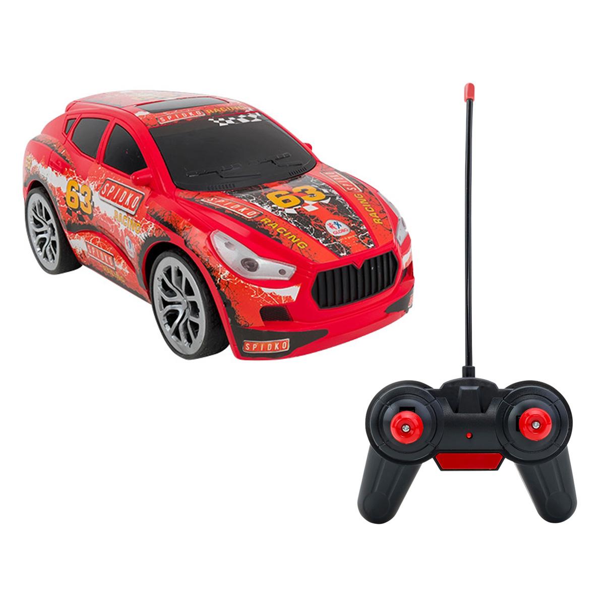Masinuta cu telecomanda Globo Suv WRC, Rosu