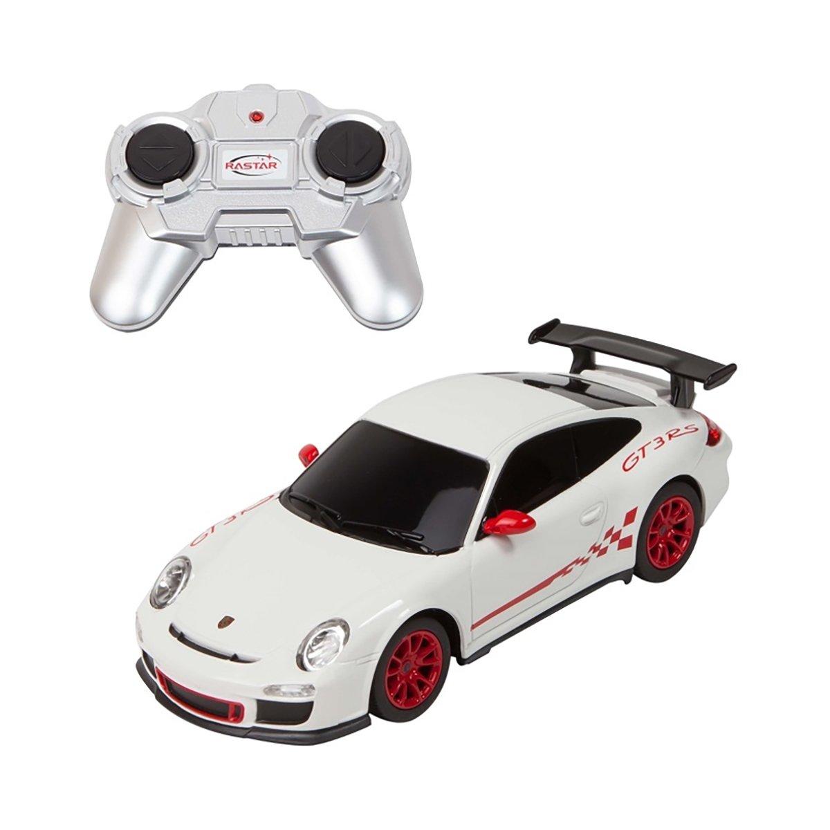 Masina cu telecomanda Rastar Porsche GT3 RS S, 1:24, Alb