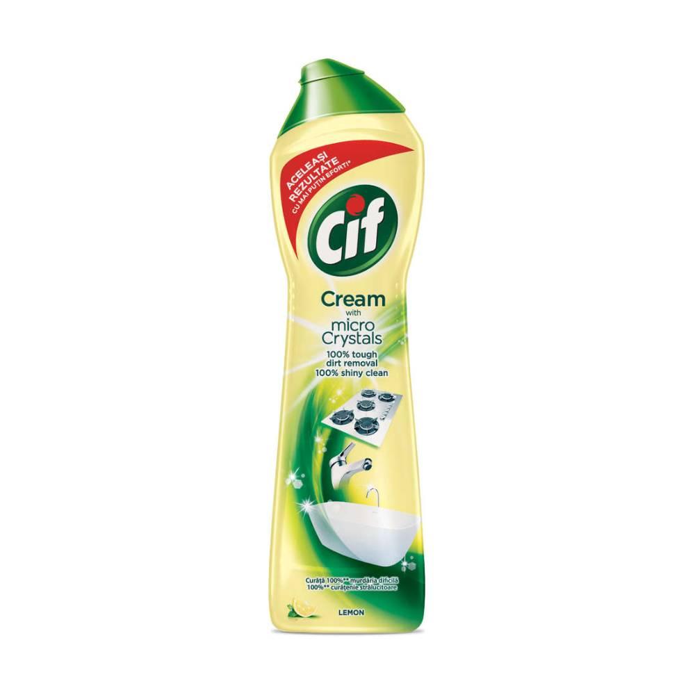 Crema Cif Lemon 500 ml imagine