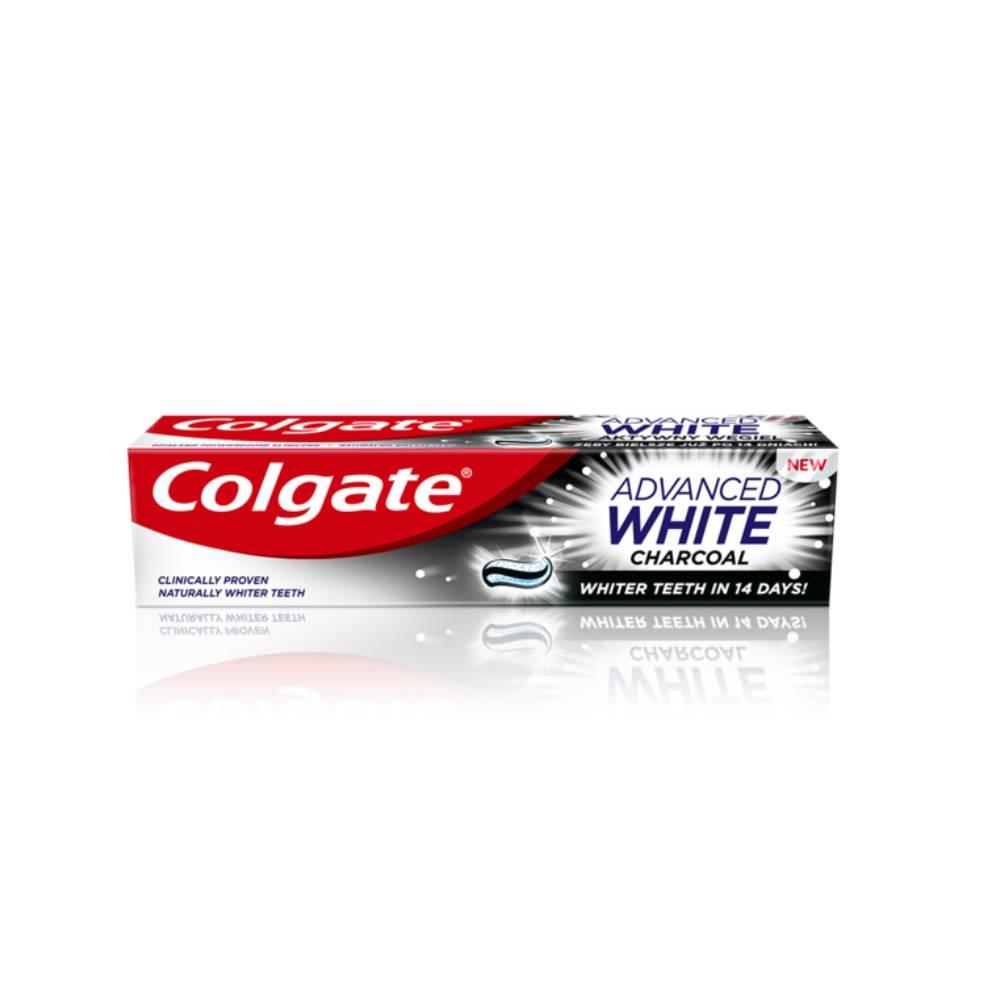 Pasta de dinti Colgate Advanced White Charcoal, 100ml imagine