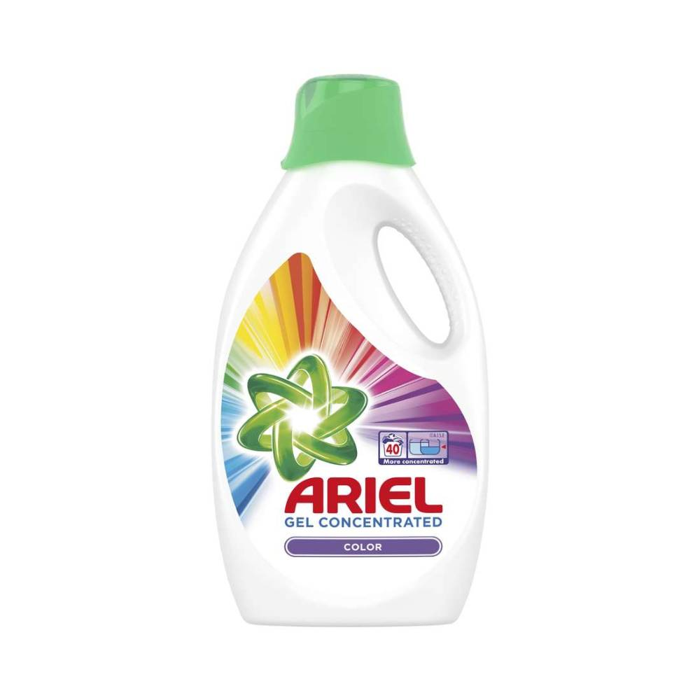 Detergent Ariel Lichid Color 40 Spalari, Gel 2.2 l imagine 2021