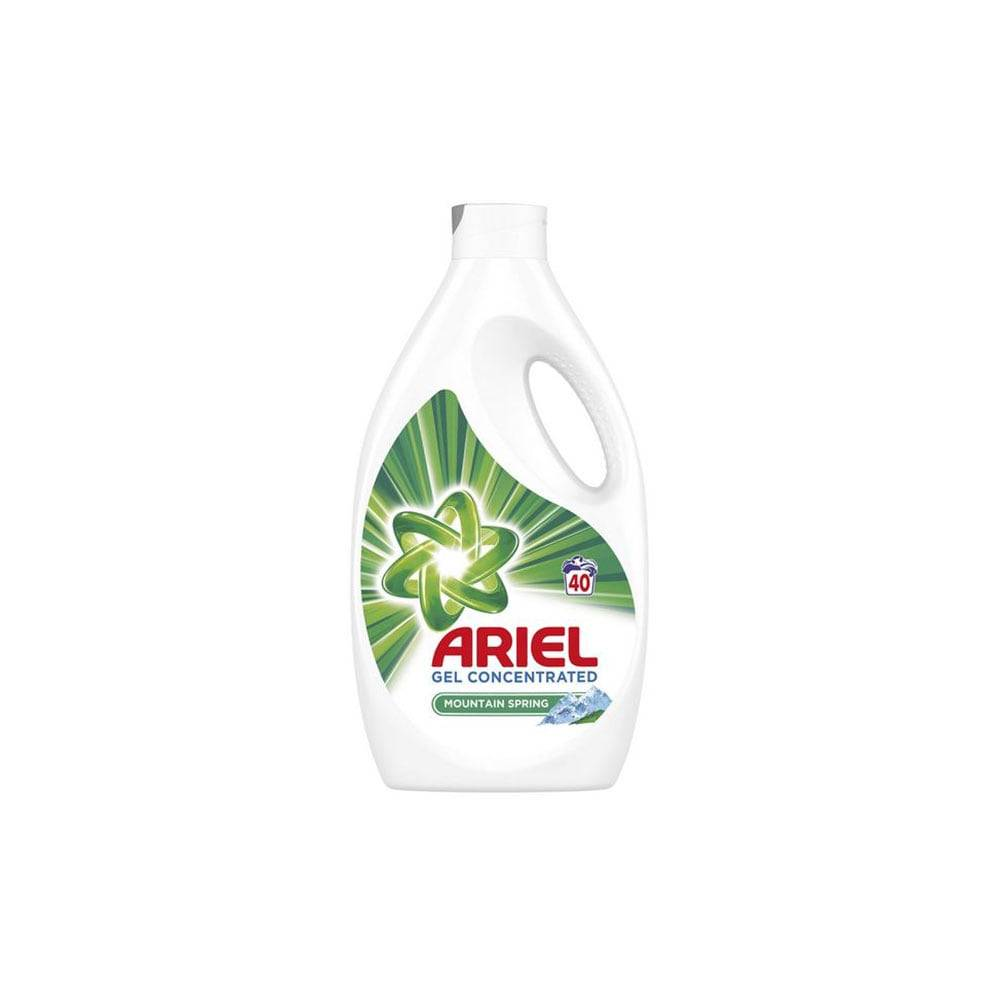 Detergent Ariel Lichid Mountain Spring 40 Spalari, Gel 2.2 l imagine 2021