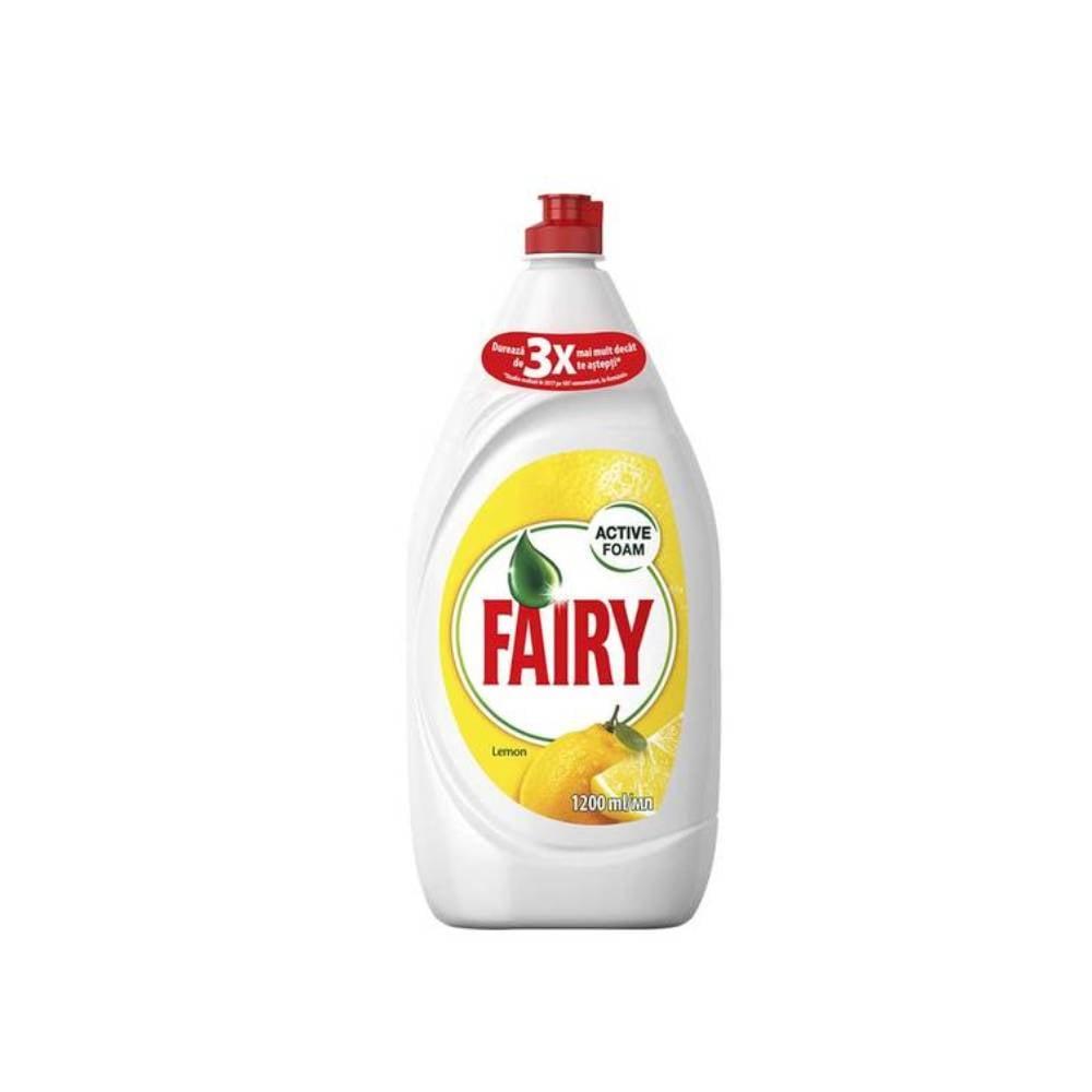 Detergent de vase Fairy Lemon, 1.2l imagine
