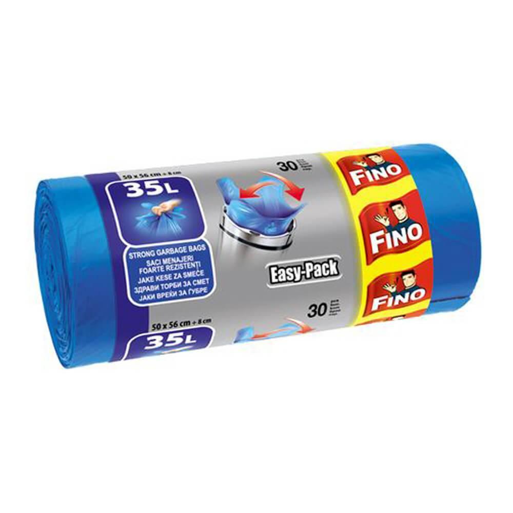 Saci pentru gunoi Fino Easy-Pack, 35l, 30buc imagine