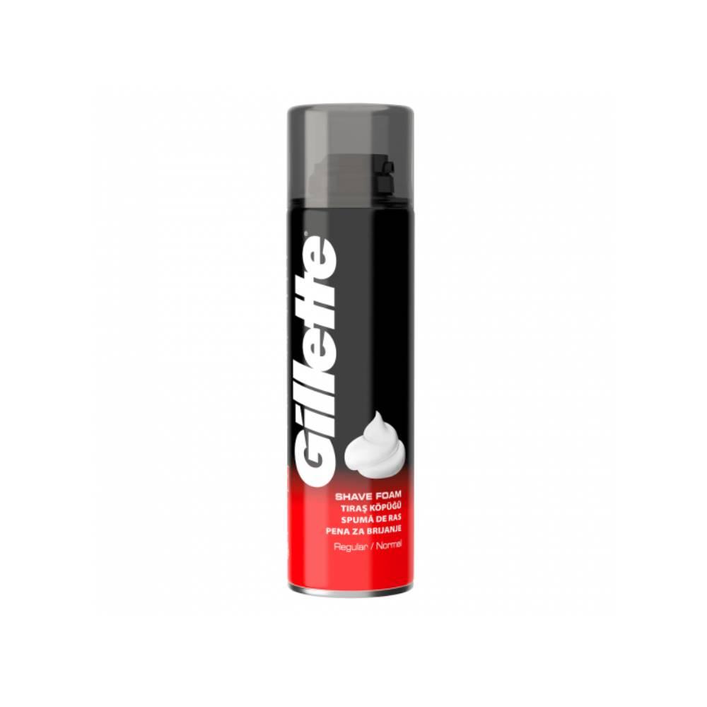 Spuma de ras Gillette Normal, 200ml imagine
