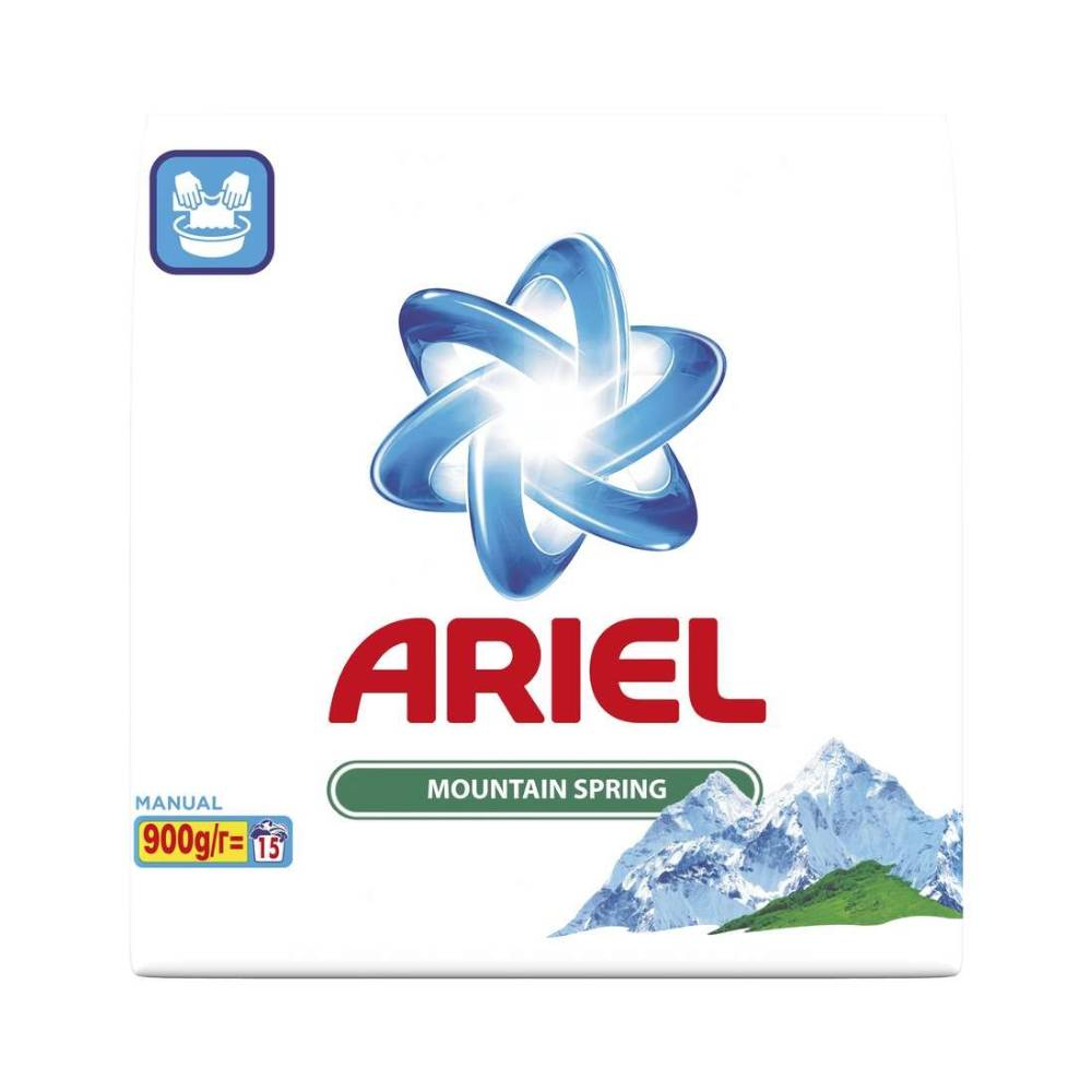 Detergent Ariel Manual Mountain Spring, 900 g imagine 2021