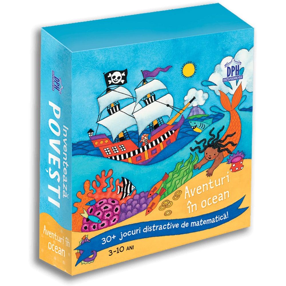 Editura DPH, Inventeaza povesti - Aventuri in ocean, 30+ jocuri distractive de matematica
