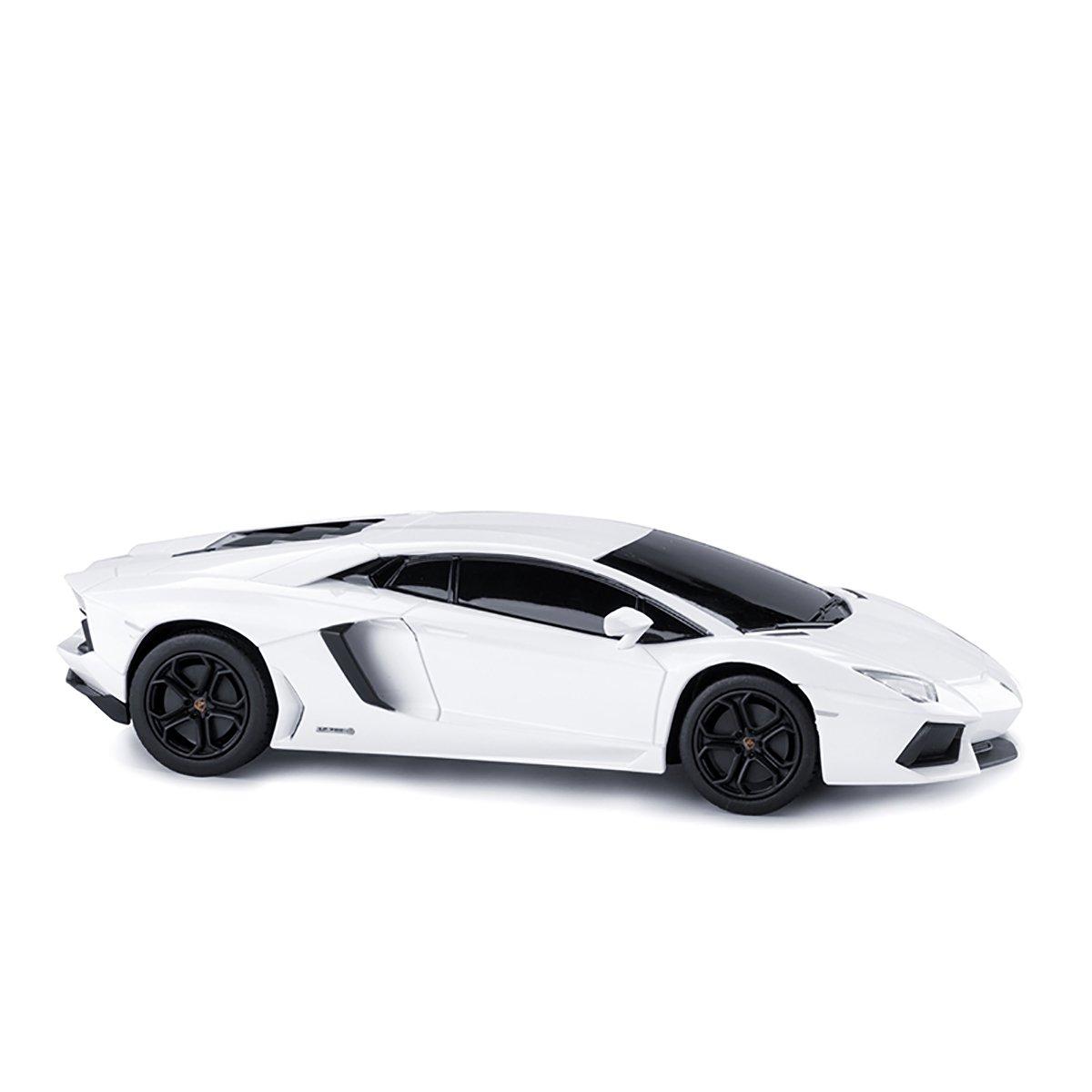 Masinuta cu telecomanda Rastar Lamborghini Aventador LP700 RC, Alb, 1:24