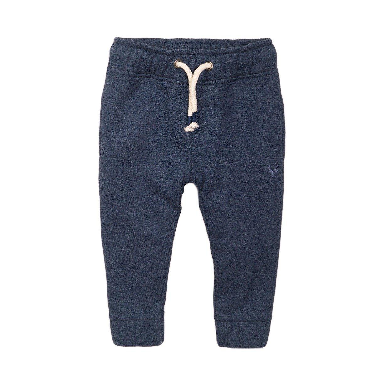 Pantaloni sport cu snur bleumarin Minoti 3Bjpant