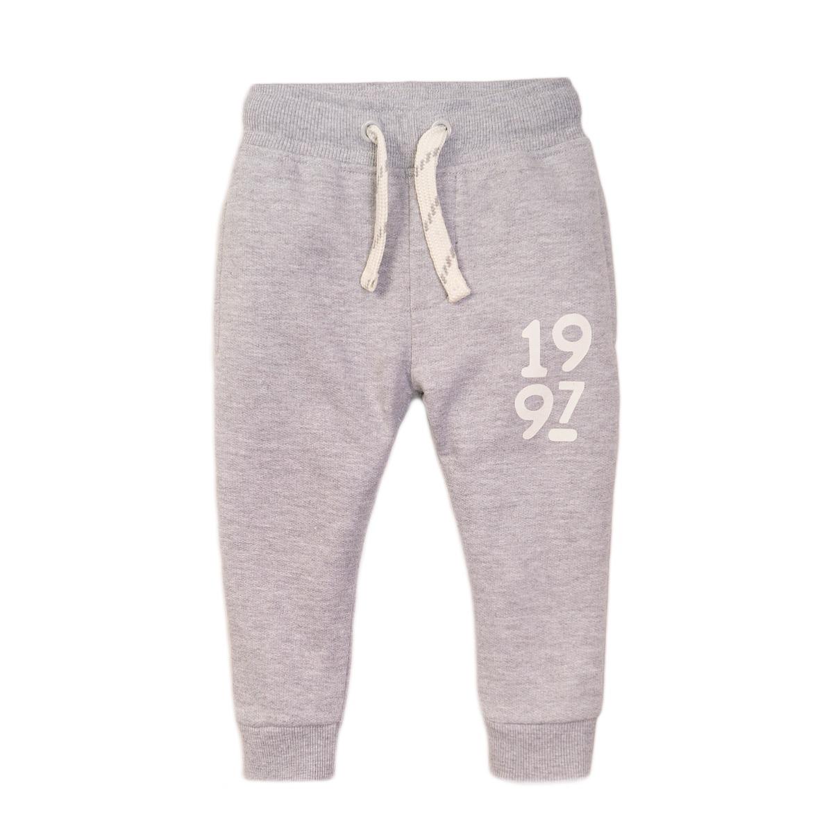 Pantaloni sport cu snur gri Minoti 3Todjpant imagine