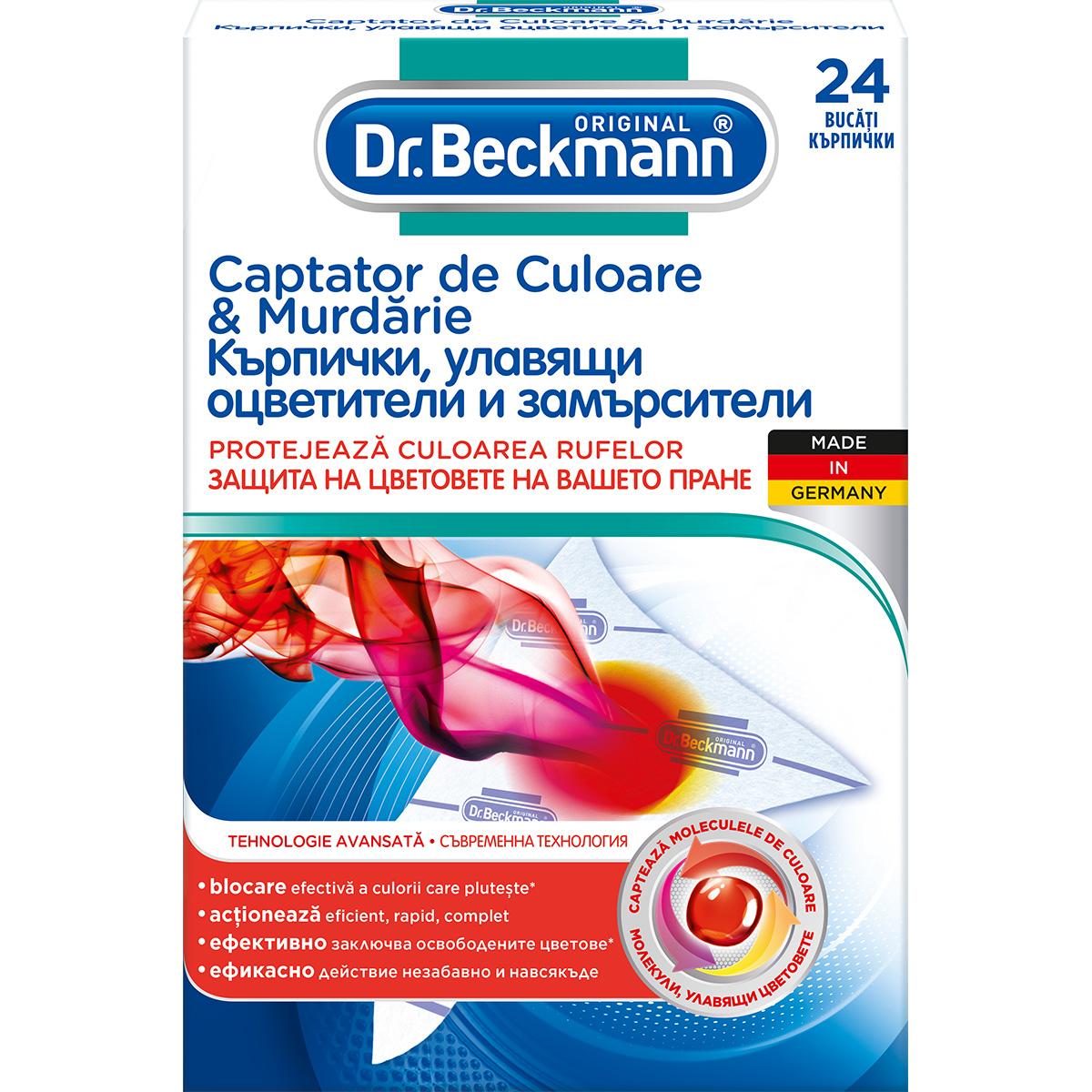 Servetele captatoare de culoare si murdarie Dr. Beckmann, 24 buc imagine