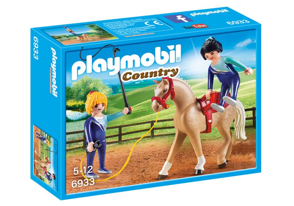 Set Playmobil Country - Lectie Calarie (6933)