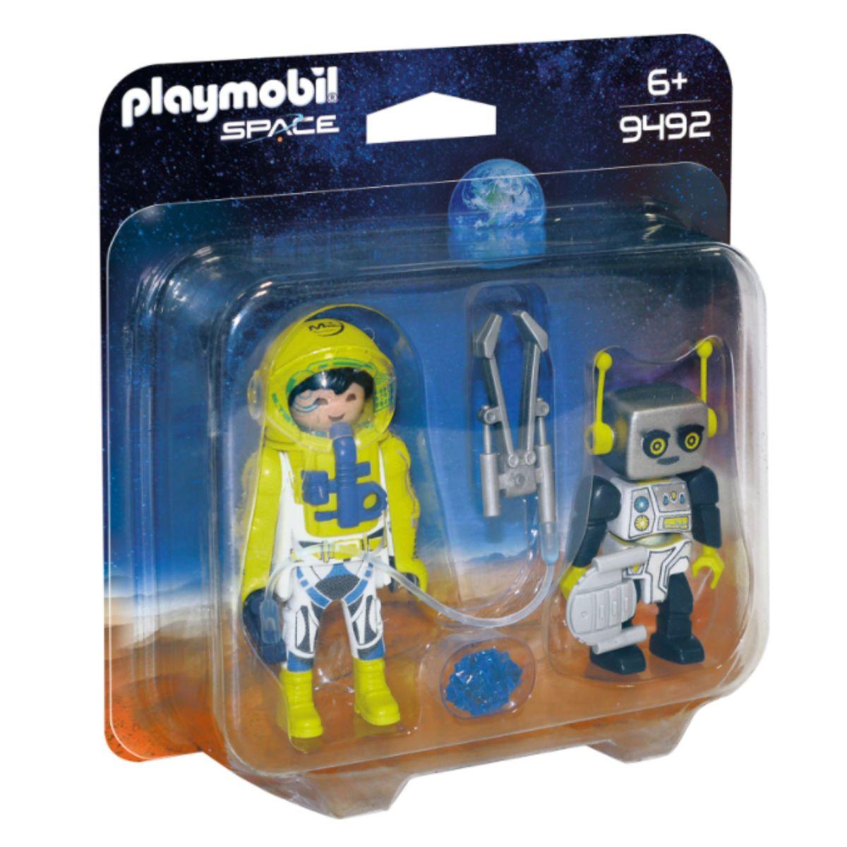 Set 2 figurine Playmobil - Astronaut si robot
