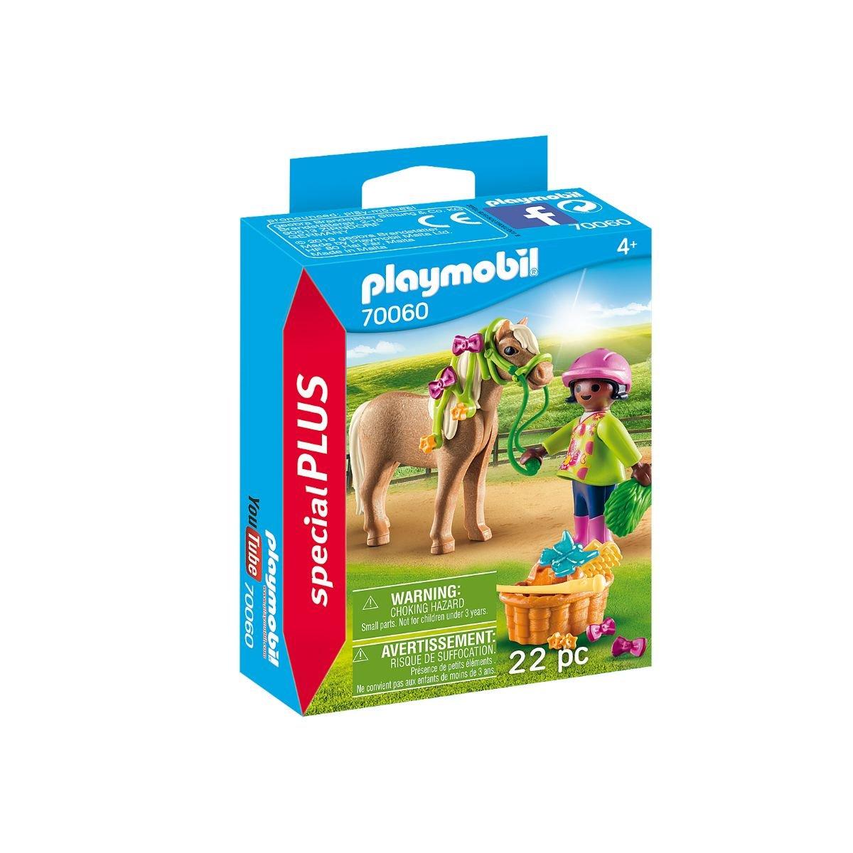 Set Playmobil Figures Special Plus - Figurina fetita cu ponei