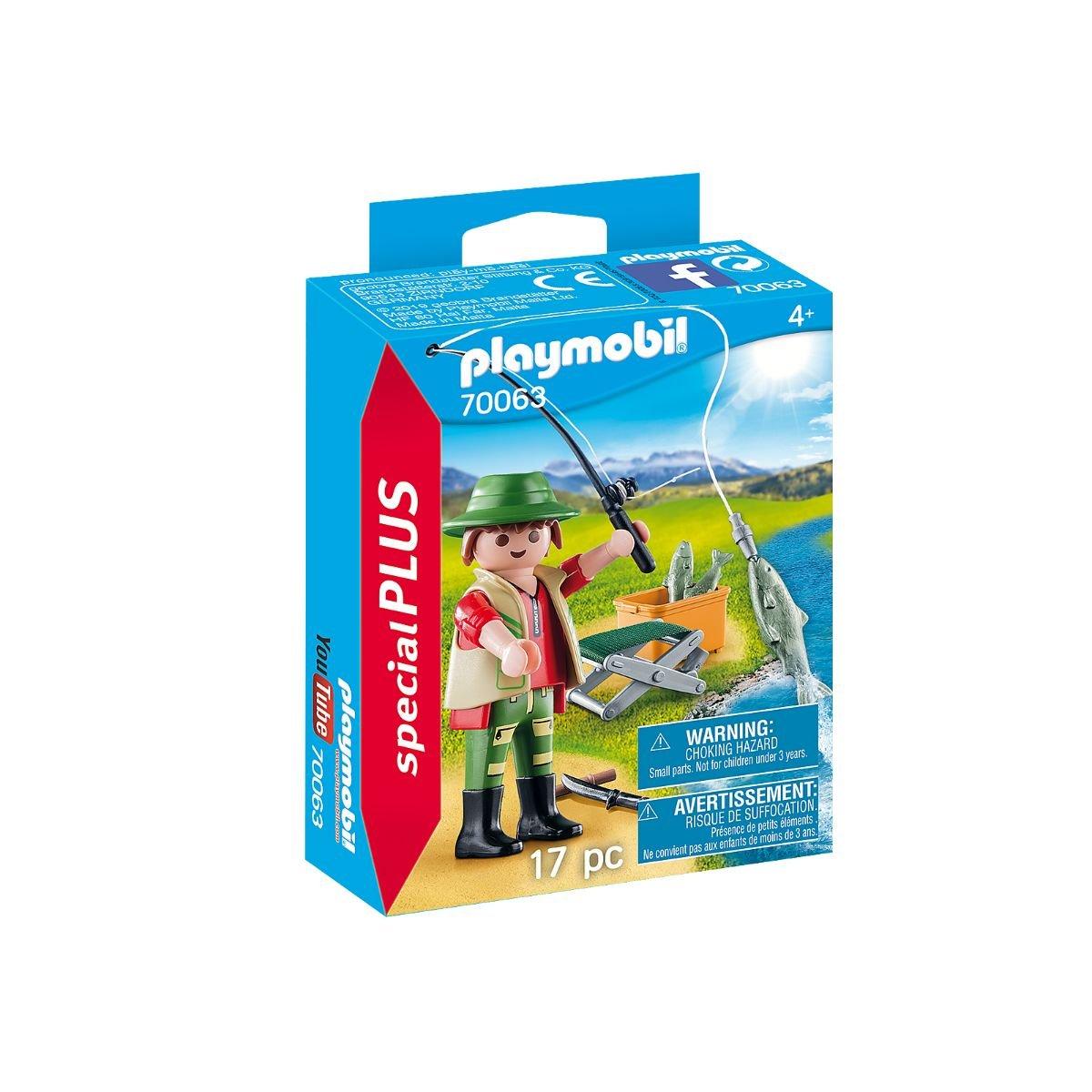 Set Playmobil Figures Special Plus - Figurina pescar