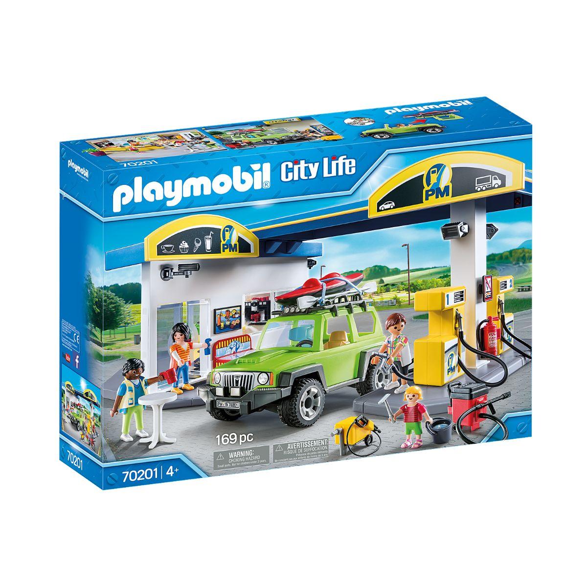 Set Playmobil City Life - Benzinarie