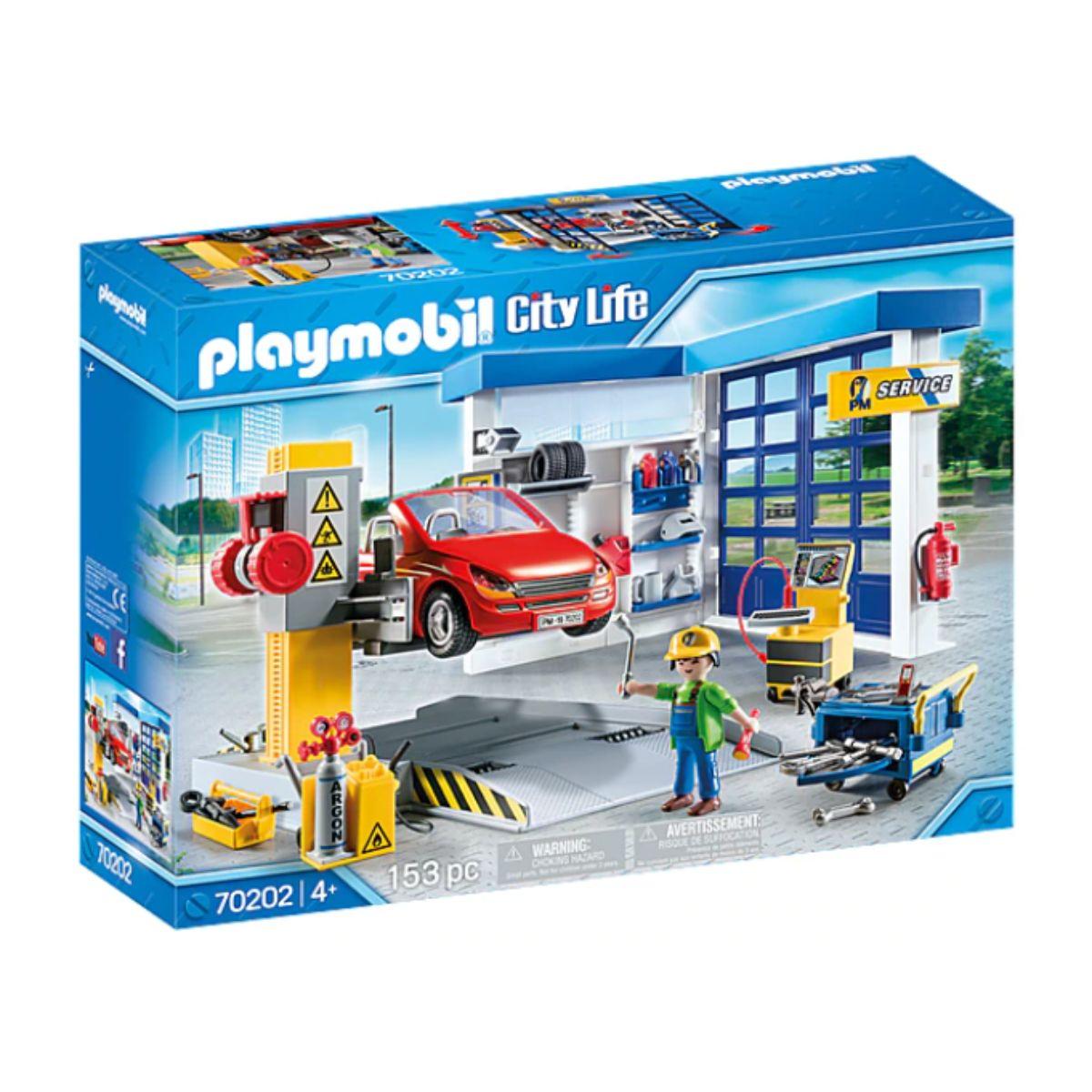 Set Playmobil City Life - Service auto