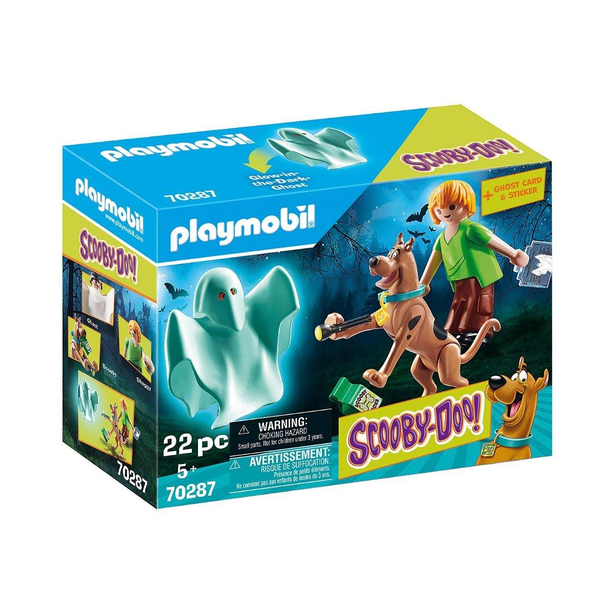 Set Playmobil Scooby Doo - Scooby si Shaggy cu fantoma