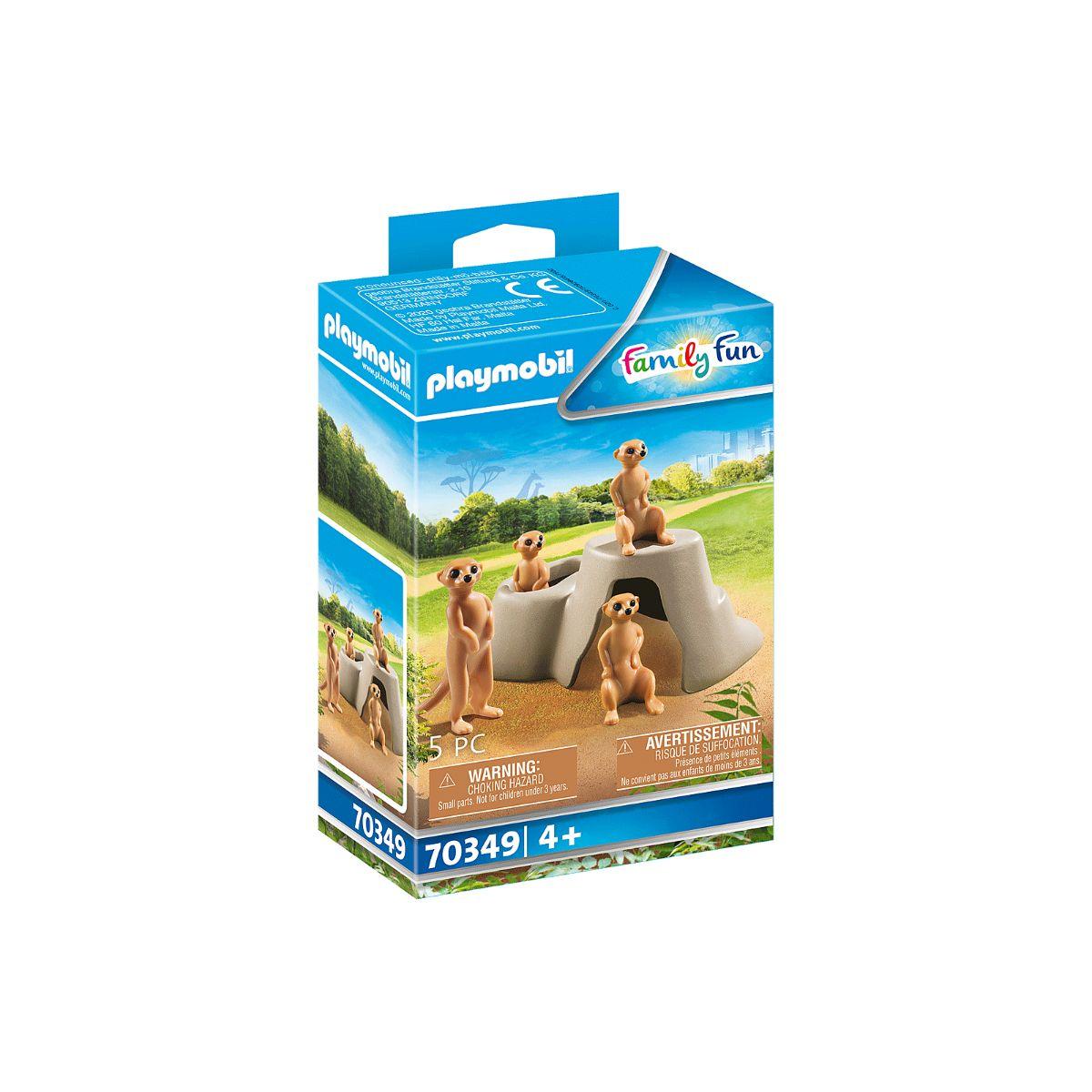 Set Playmobil Family Fun Large Zoo - Manguste