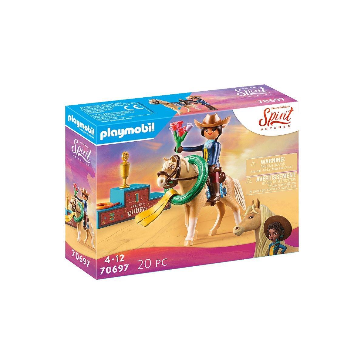 Set Playmobil Spirit - Rodeo cu Pru si Chica Linda