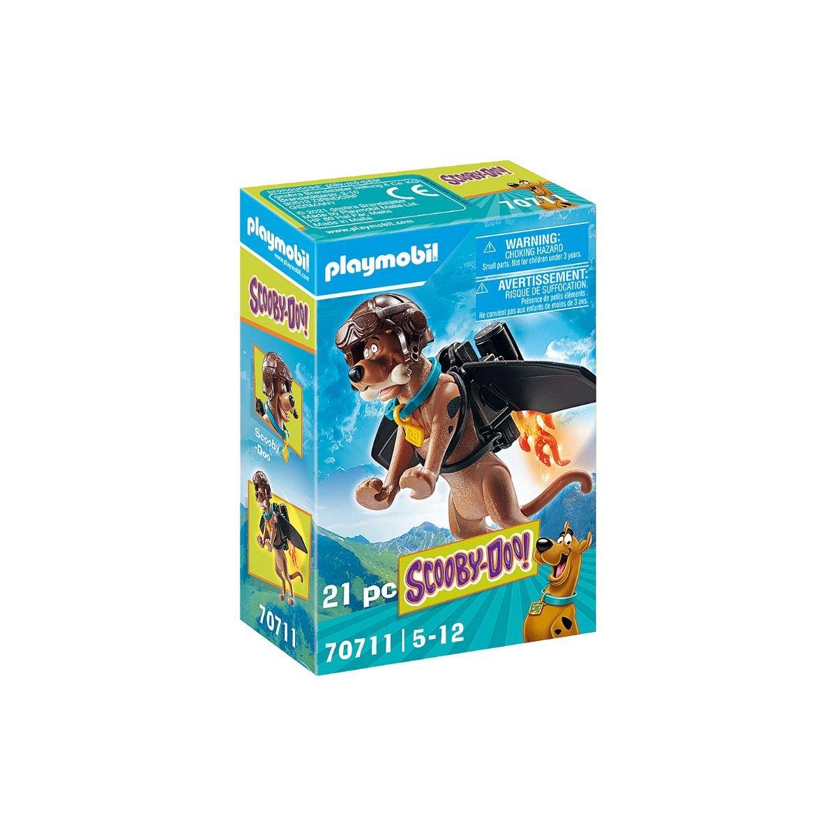Set Playmobil Scooby Doo - Figurina de colectie - Scooby-Doo! Pilot
