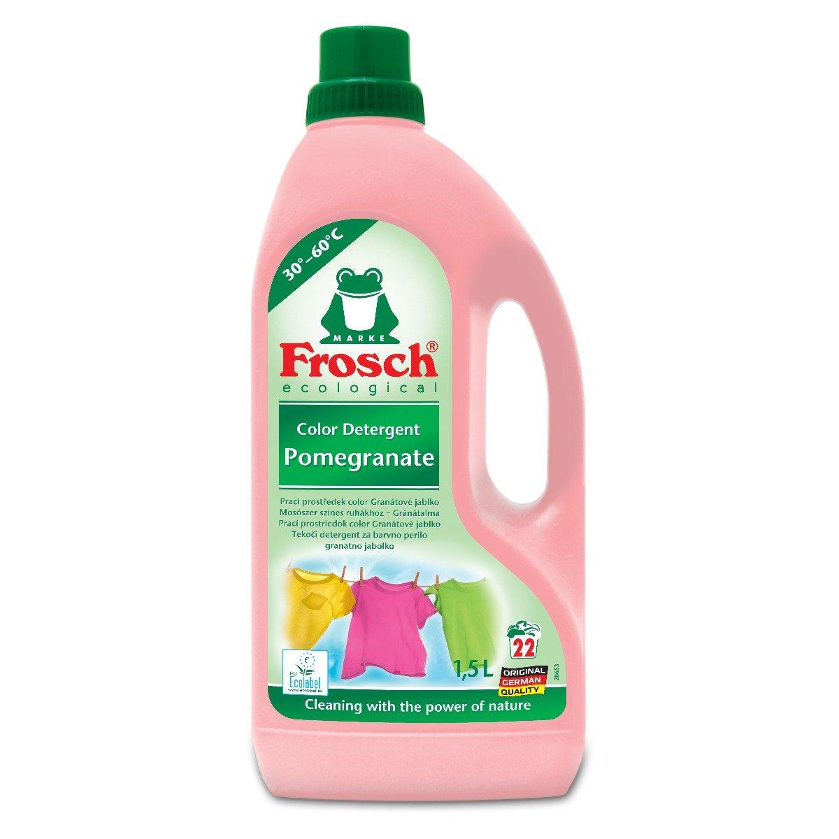 Detergent lichid pentru rufe colorate Frosh, Rodie, 1,5 L