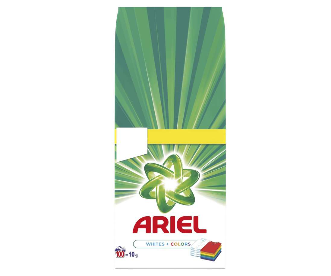 Detergent Ariel Automat 10 Kg Whites+Colors imagine 2021