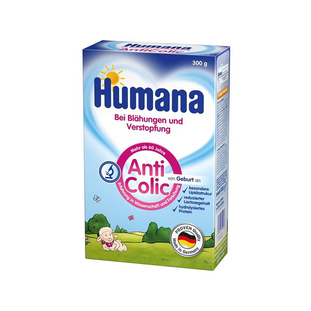 Lapte praf Humana AntiColic, 300 g, 0 luni+ imagine