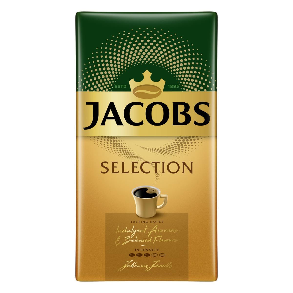 Cafea macinata si prajita Jacobs Selection, 500 g imagine