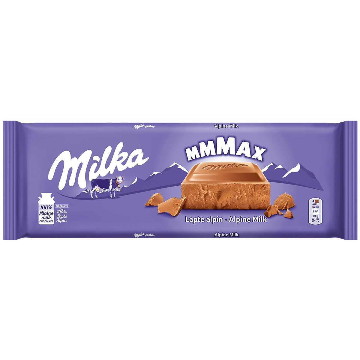 Ciocolata cu lapte alpin Milka, 270 g imagine