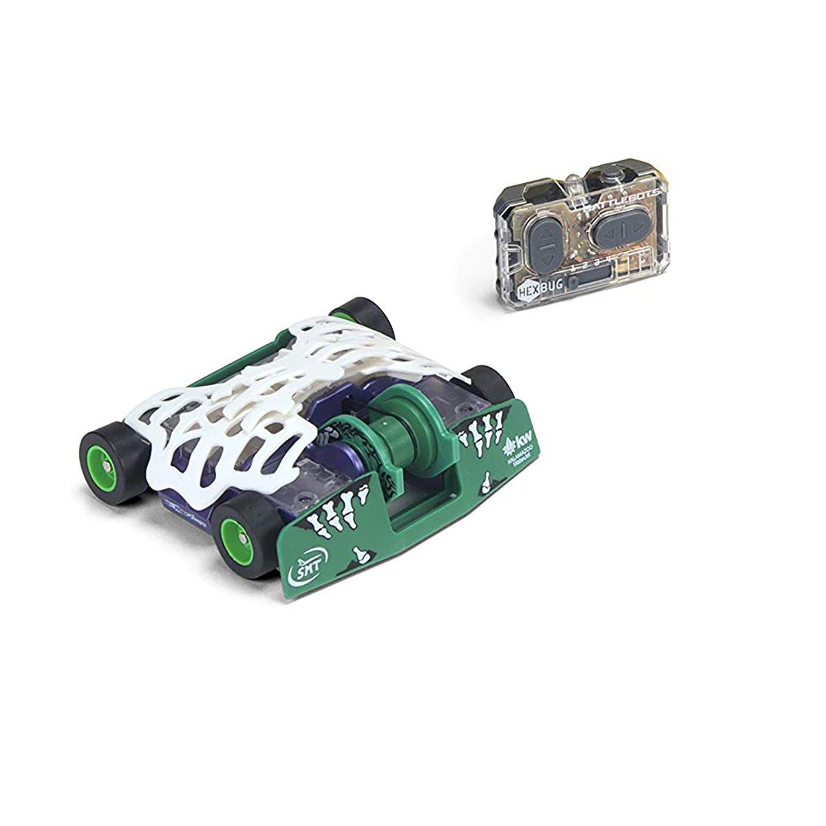 Robot de lupta cu telecomanda BattleBots Hexbug, Witchdoctor, 413-5186