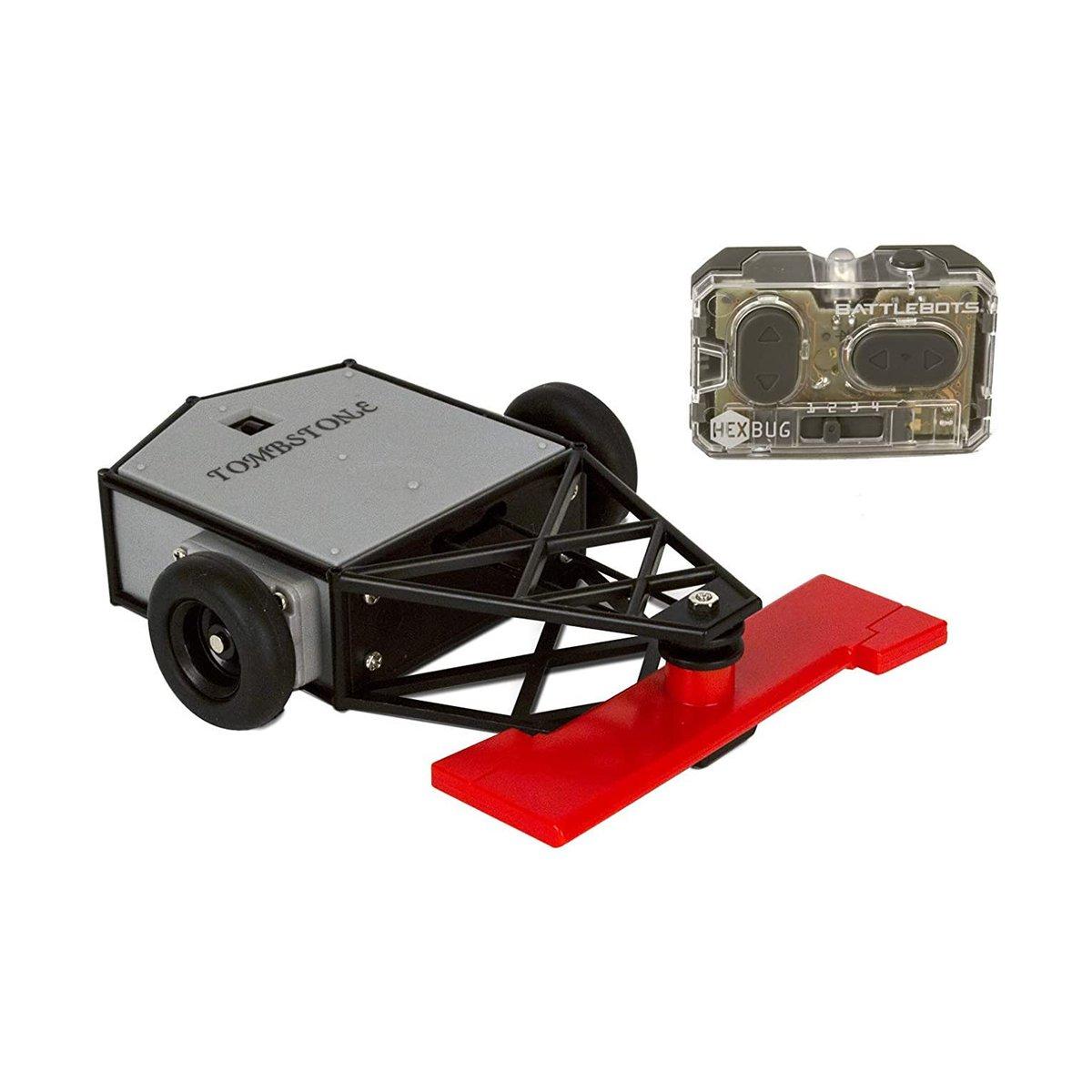 Robot de lupta cu telecomanda BattleBots Hexbug, Tombstone, 413-5185