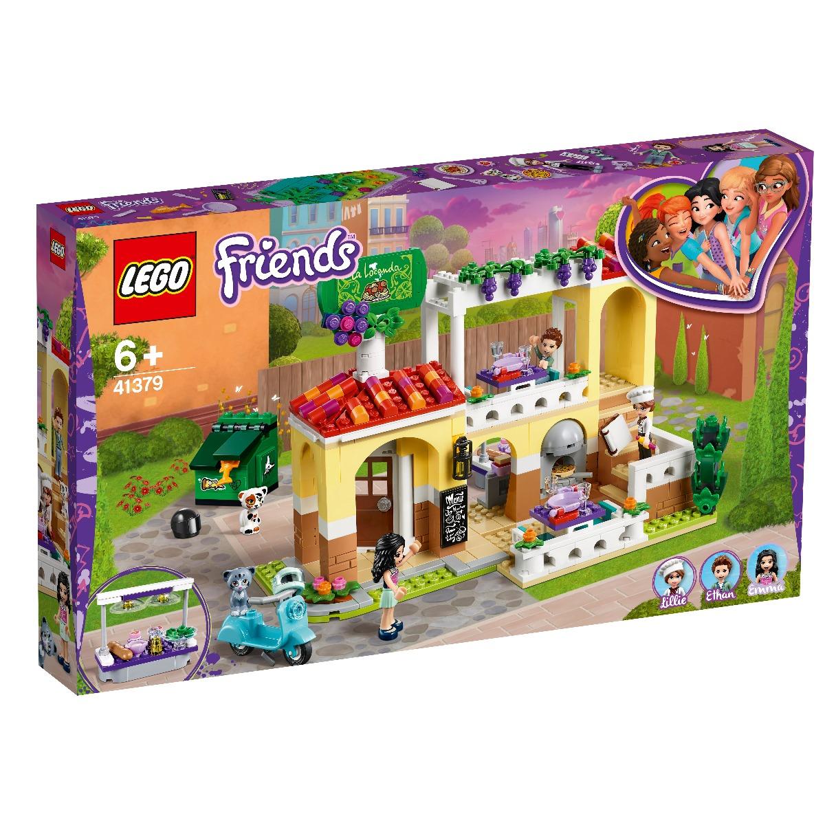 LEGO® Friends - Restaurantul din Orasul Heartlake (41379)