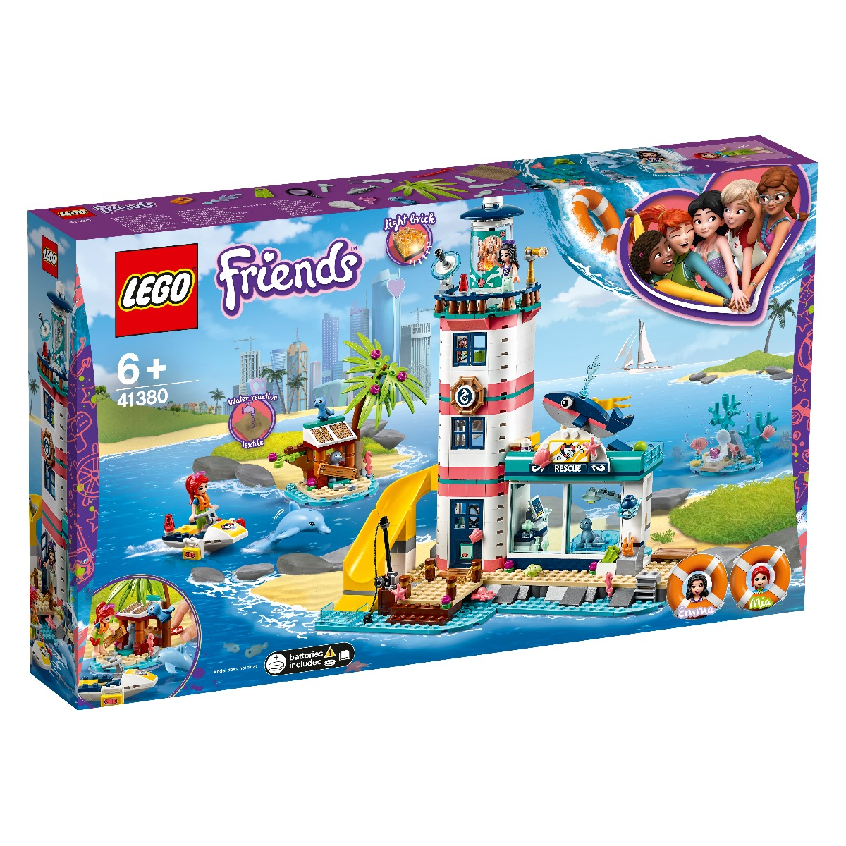 LEGO® Friends - Centrul de salvare de la far (41380)